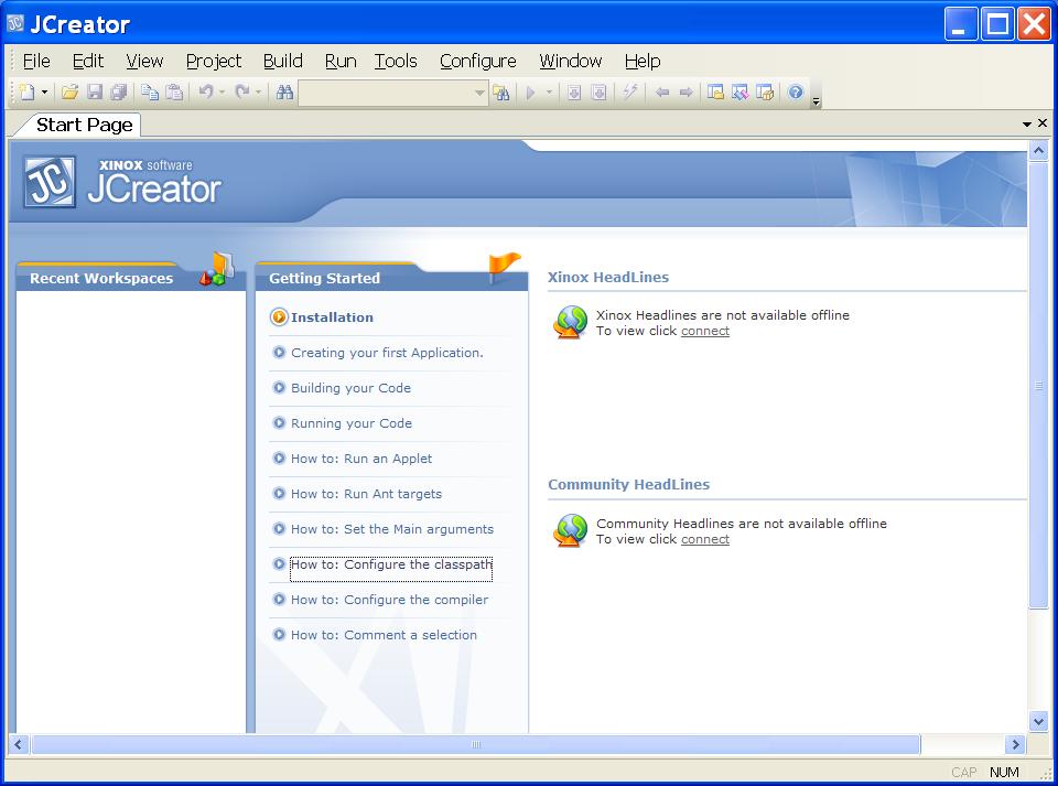 Download gratis JCreator pro 45 setup + key - WELCOME