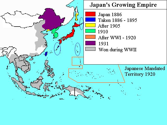 the fall of the japanese empire during the manchurian invasion Start studying ww2 (pacific theater  the japanese invasion of manchuria  head of state under the constitution of the empire of japan during japan's.