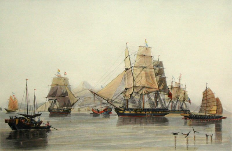 Early sailing ships into the 19th c clippers publicscrutiny Choice Image